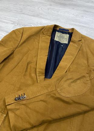 Пиджак горчичного цвета блейзер state of art