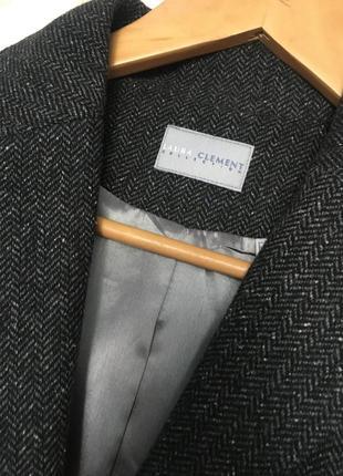 Трендовый блейзер/ пиджак в гусиную лапку