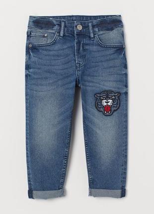 Джинси джинсы 4-5 р тигр