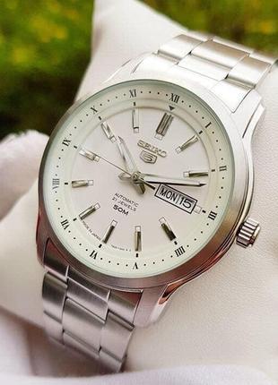 - 35% | мужские автоматические часы seiko 5 snkp09 42 мм (оригинальные, с биркой)