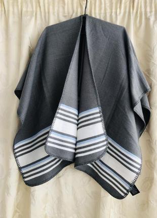 Пончо шарф