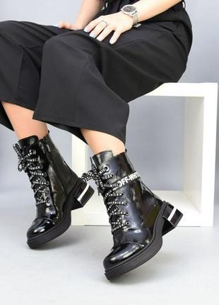 Ботинки off-white осень зима