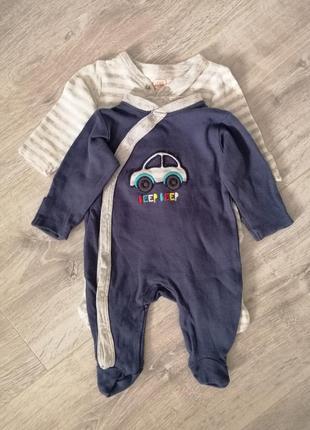 Набор человечков слипов человечек для новорожденных в роддом