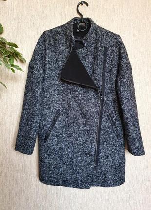 Стильное пальто, полупальто divided от h&m, шерсть