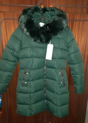 Зимняя куртка холлофайбер