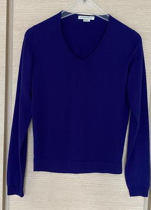 Пуловер шерстяной премиум бренд англии john smedley размер s