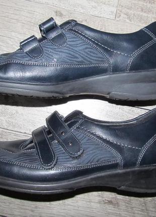 Medicus кожаные туфли 7,5g - 41,5- 26,8см