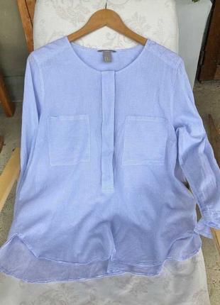 Модная рубашка в полоску  100% хлопок