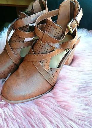 Новые сток летние ботинки (закрытые босоножки) jast fab (к087)