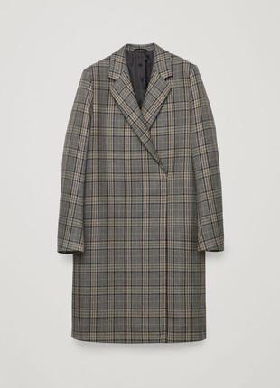 Cos шерстяное пальто новое