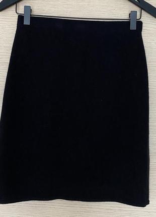 Юбка шерсть трикотажная naturalmente размер s