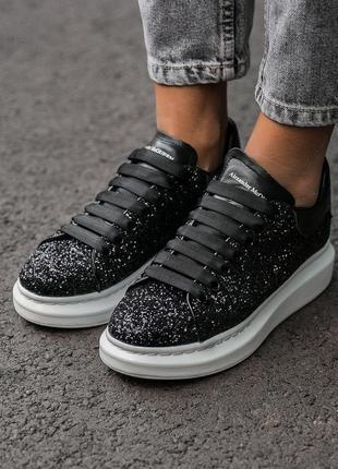 Кроссовки alexander mcqueen luxury черный цвет (36-40)💠