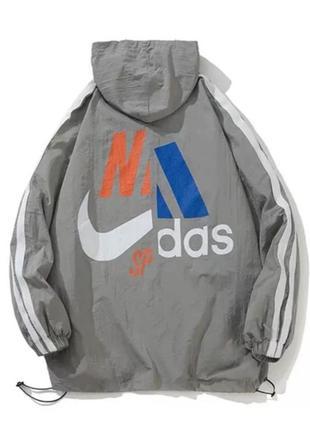 Ветровка,  куртка,  анорак,  adidas,  nike,  коллаборация