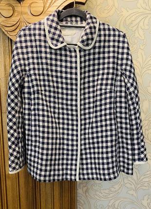 Льняной пиджак max mara.