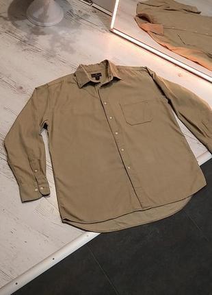 Сорочка чоловіча вельветова, рубашка мужская вельвет