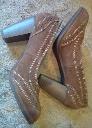Женские туфли ronzo (иск.замша)