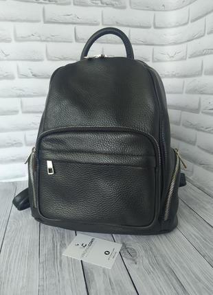 Кожаный рюкзак италия!шкіряний рюкзак італія!кожаный рюкзак! рюкзак vera pelle