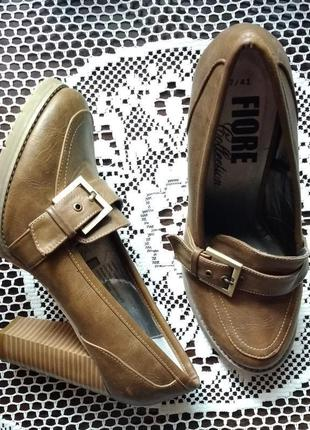 Стильные и удобные туфли, 40р