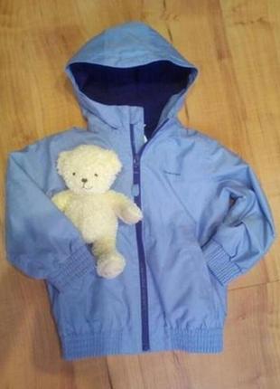 Демисезонная курточка детская с капюшоном