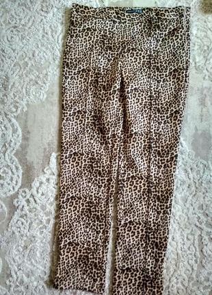 Женские штаны, брюки леопард