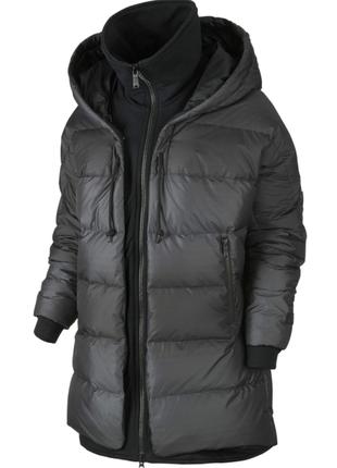 Новый пуховик nike cocoon parka оверсайз куртка парка оригинал пух 75% найк оригинал