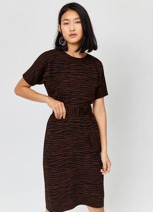 Платье миди warehouse (р.m)