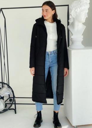 Пуховик куртка зимняя пальто теплое