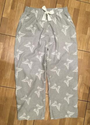 Пижама штаны домашние f&f р-р12-14(l-xl)