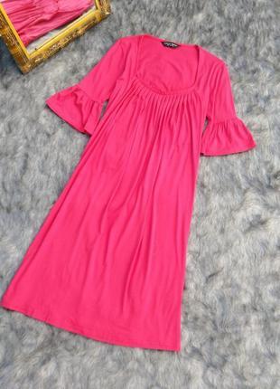Платье свободного кроя насыщенного оттенка фуксии dorothy perkins