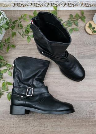 🌿37,5 размер🌿европа🇪🇺 bally. швейцария. кожа. фирменные классные ботинки