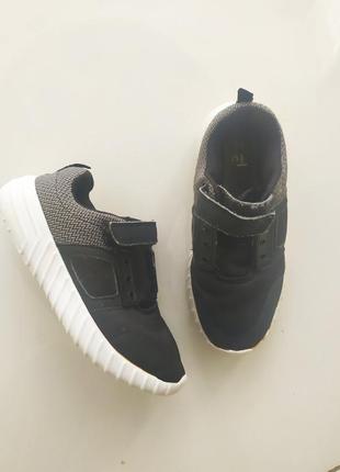 Кроссовки кросовки чёрные на мальчика