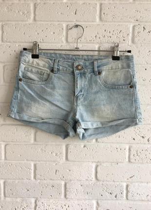 Короткие шорты шортики denim co
