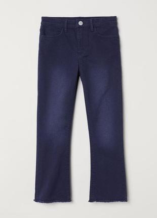 H&m укороченные джинсы размер на рост 140,9-10 лет