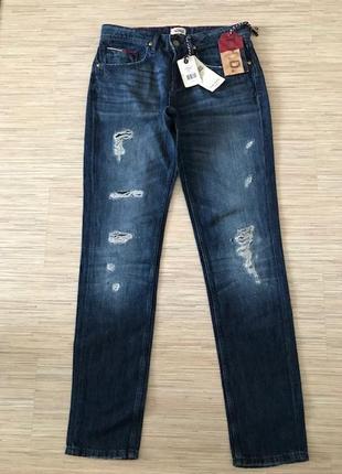 Новые (с этикеткой) джинсы от tommy hilfiger, размер 26/32