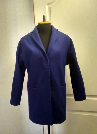 Фирменное пальто кокон
