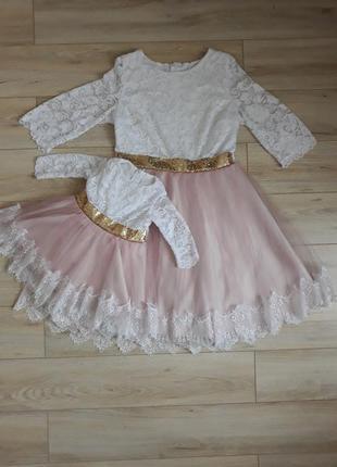 Платья femely look мама+ дочка