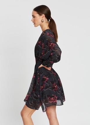 Шифоновое платье премиум-класса allsaints (р.м)