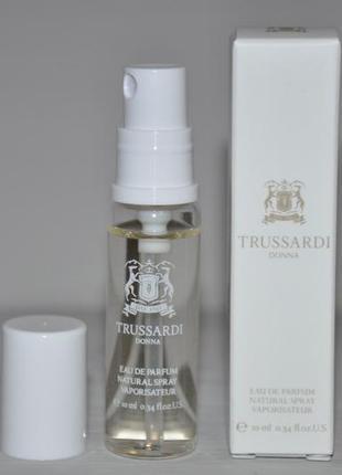 Trussardi donna trussardi парфюмированная вода (мини)  спрей 10мл