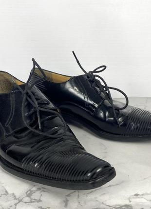 Туфли стильные maelstrom, кожаные