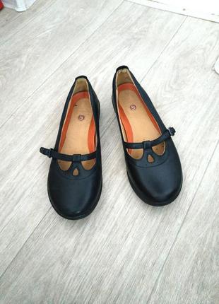 Туфли clarks р.38 кожа