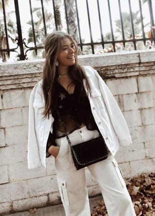 Белая джинсовка , джинсовая куртка