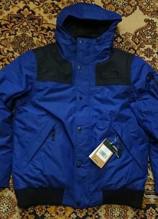 Брендова фірмова зимова куртка натуральний пуховик the north face,оригінал,розмір l.