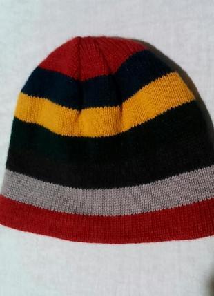 Теплая шапка на флисе