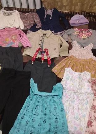 Одежда на девочку 4 года в хорошем состоянии