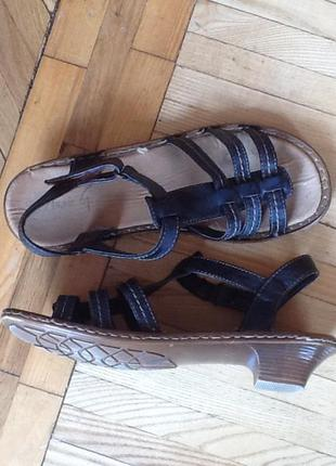 Немецкие босоножки сандалии rieker 39