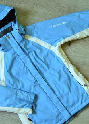 Куртка спортивная утеплённая/ лыжная/ штормовка salomon