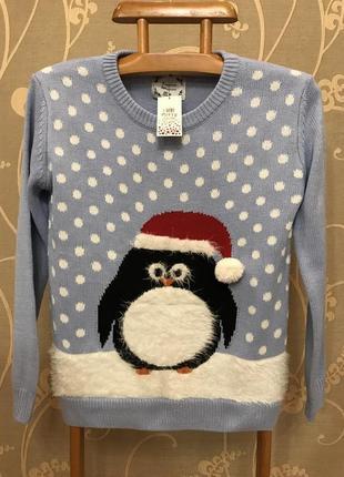 Нереально красивый и стильный вязаный тёплый свитер.