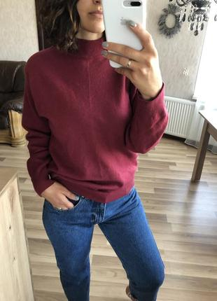 Очень тёплый, красивый шерстяной свитер