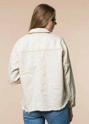 Новая куртка рубашка с накладными карманами2 фото