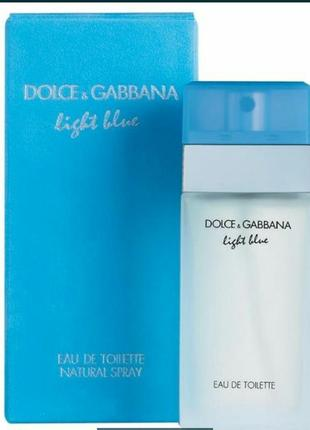 Dolce&gabbana light blue женский парфюм